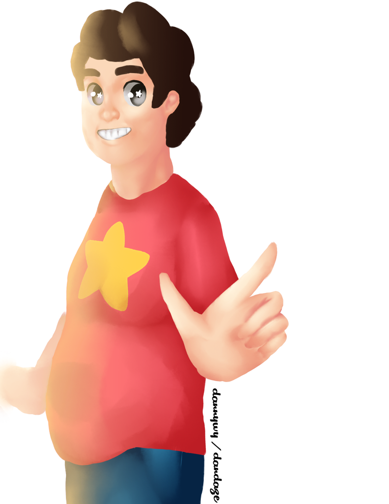 Steven Universe - Art Trade by Dandaze