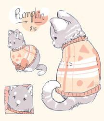 (closed) Pumpkin the Kitten