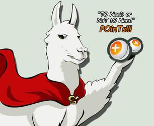 Llama love Points by NanoCigT
