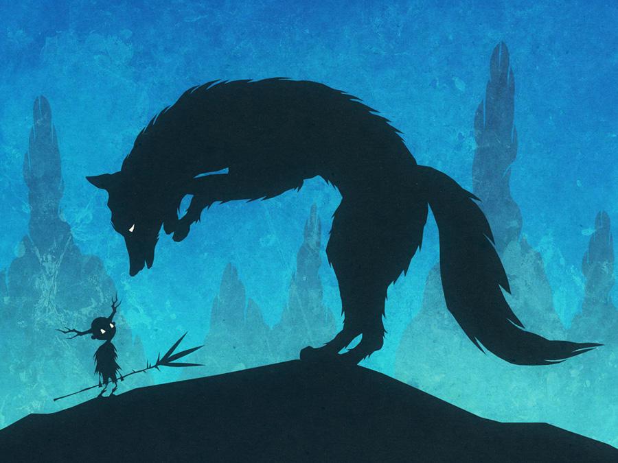Boy and Fox