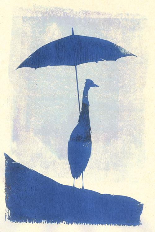 Umbrella Meditation by MadSketcher