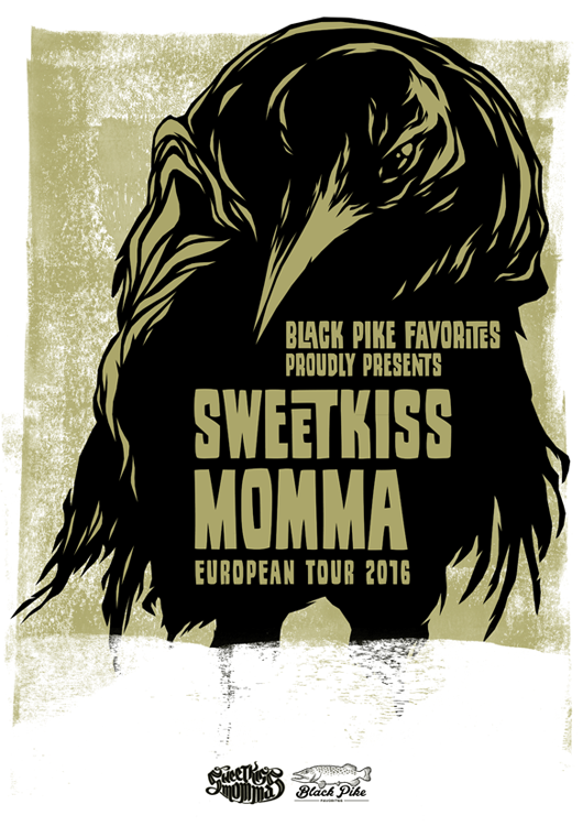 SweetKiss Momma European Tour 2016 by MadSketcher
