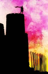 Watchtower At Dawn