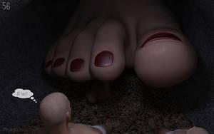 Tiny foot massage 56