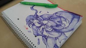 Itachi scribble