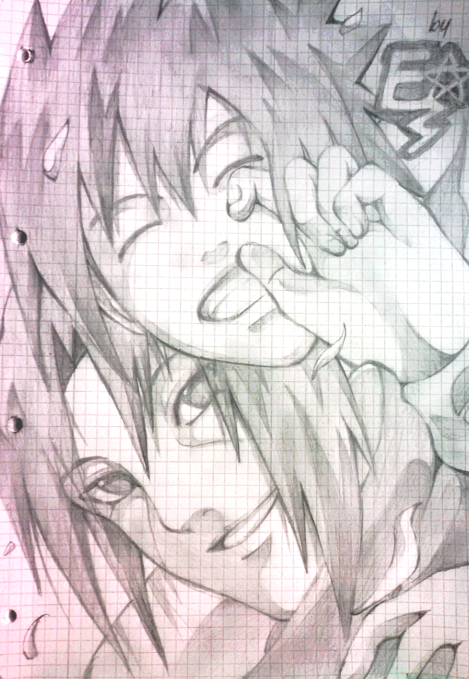 Uchiha Brothers doodle by Chillovery