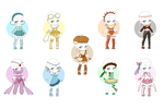 Outfit Poke Collection   Eeevee   CLOSED by CrystalQuill