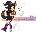 Semi-Custom Witches | 6/7 by CrystalQuill