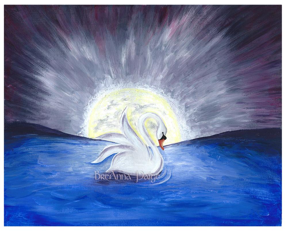Forgotten Swan by aphroditesdead