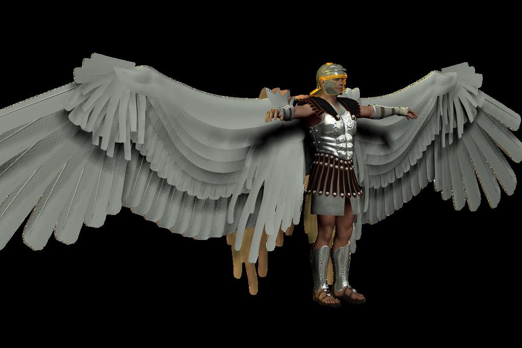 Angel Test 001 by Azrielarn