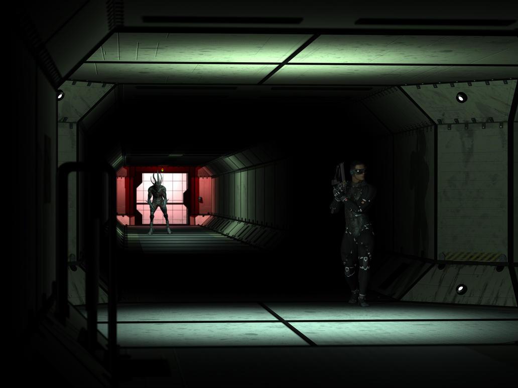 Bio-Hunter by Azrielarn