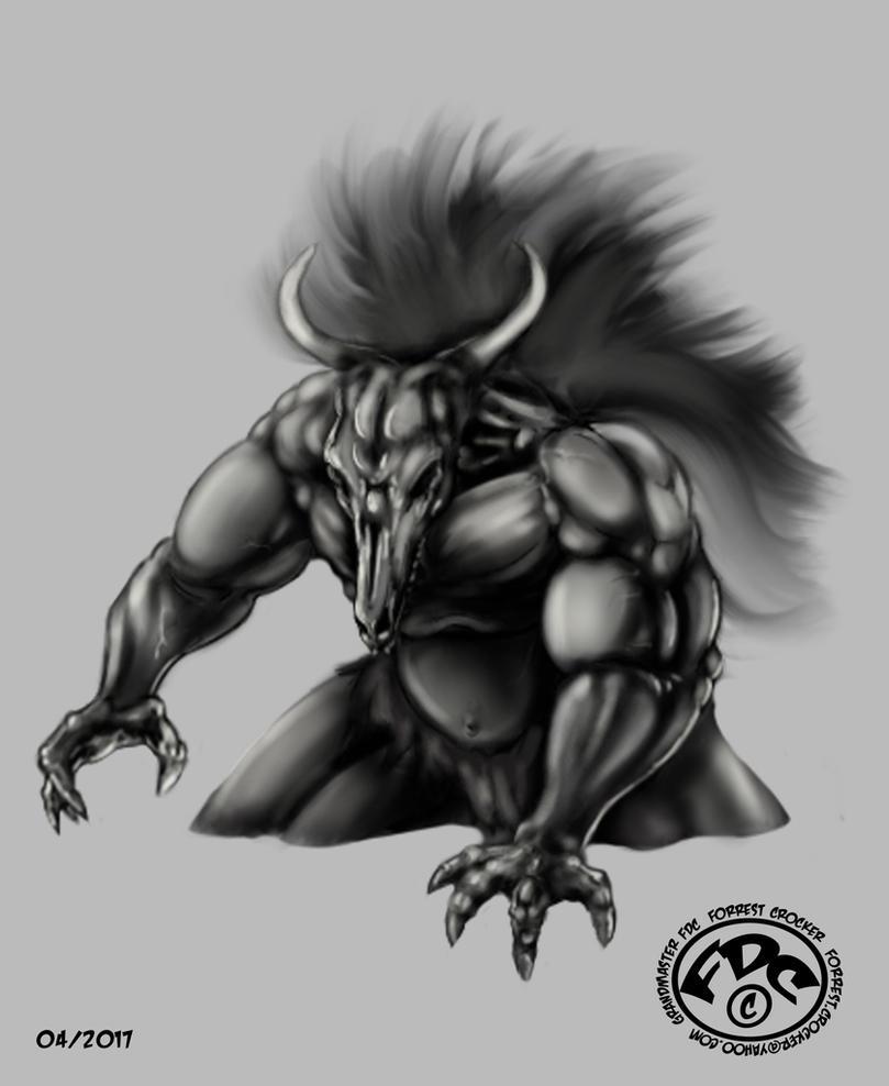 CPP1: Bull Demon by GrandMasterFDC