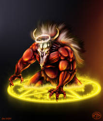 Bull Demon by GrandMasterFDC