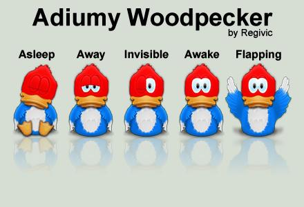Adiumy Woodpecker by Regivic
