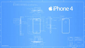 iPhone 4 Blueprint - 2560x1440