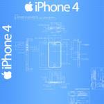 iPhone 4 Blueprint - 1024x1024