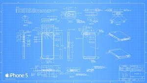 iPhone 5 Blueprint - 2560x1440