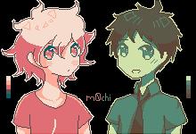 Koma And Hina by m0chi-kun