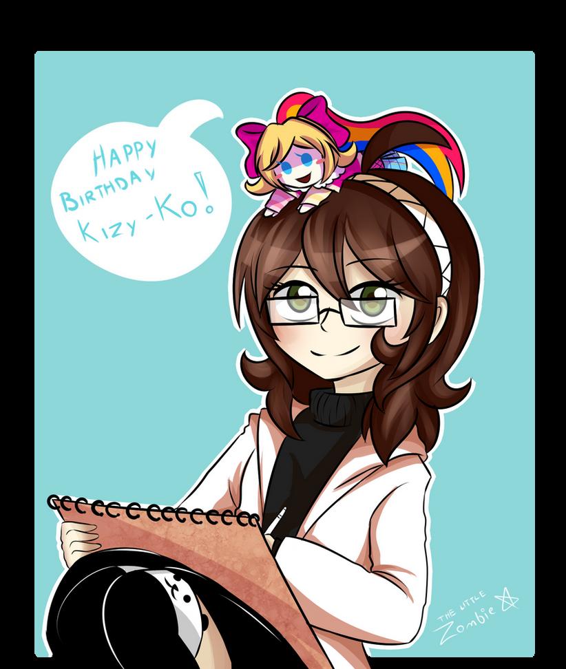 Happy Birthday Kizy-Ko!! by JustALittleZombie