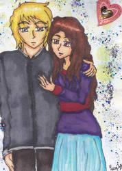 Card Project #001 - Dramione by DemonBarberLucy