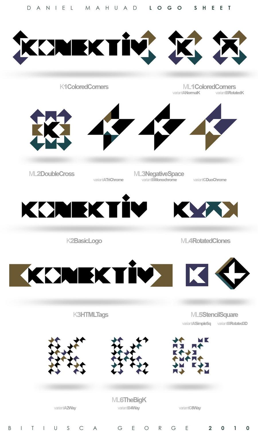 Konektiv - LogoSheet by Horhew