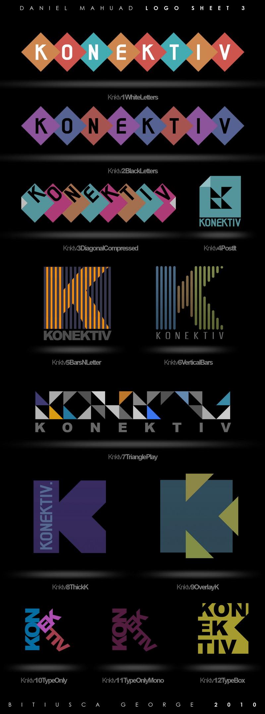 Konektiv - LogoSheet 3 by Horhew