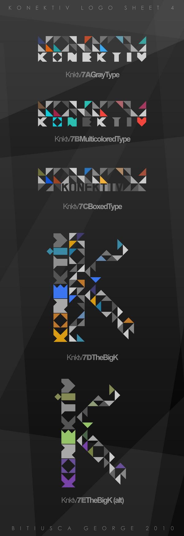 Konektiv - LogoSheet 4 by Horhew