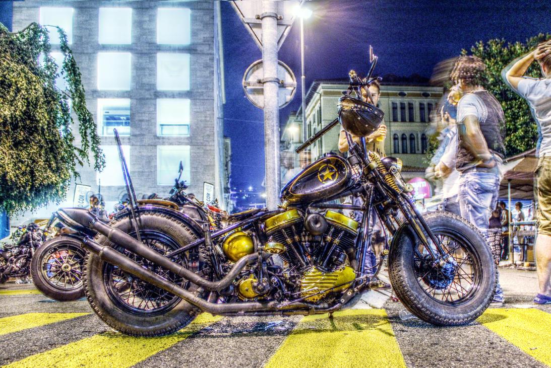 Harley Davidson Digital Oil Gauge