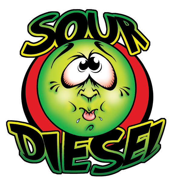Sour Diesel Logo (High Kind Clthing)