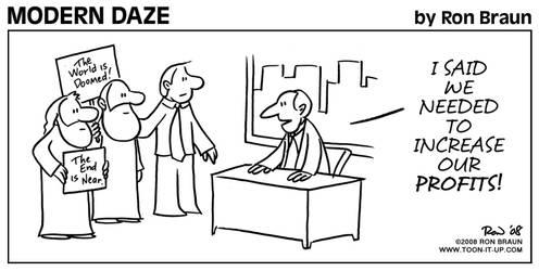 Modern Daze Comic Strip No. 9
