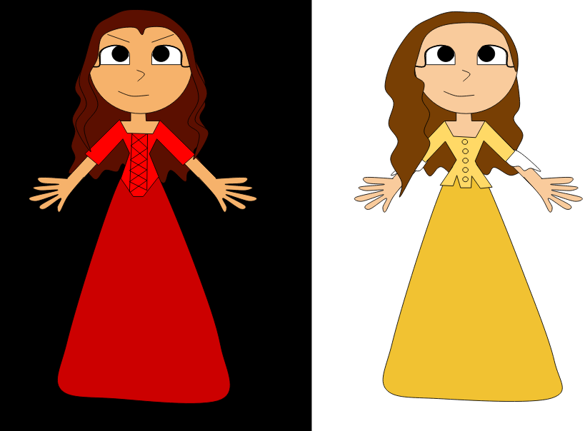 Miss Maria Reynolds-And Peggy! by HamiltonFreak