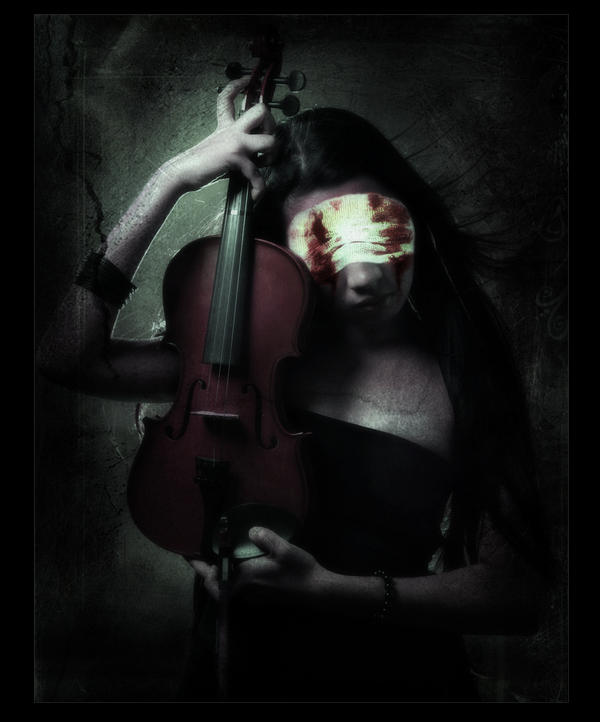 The Violinist by BlackRoseImmortal666