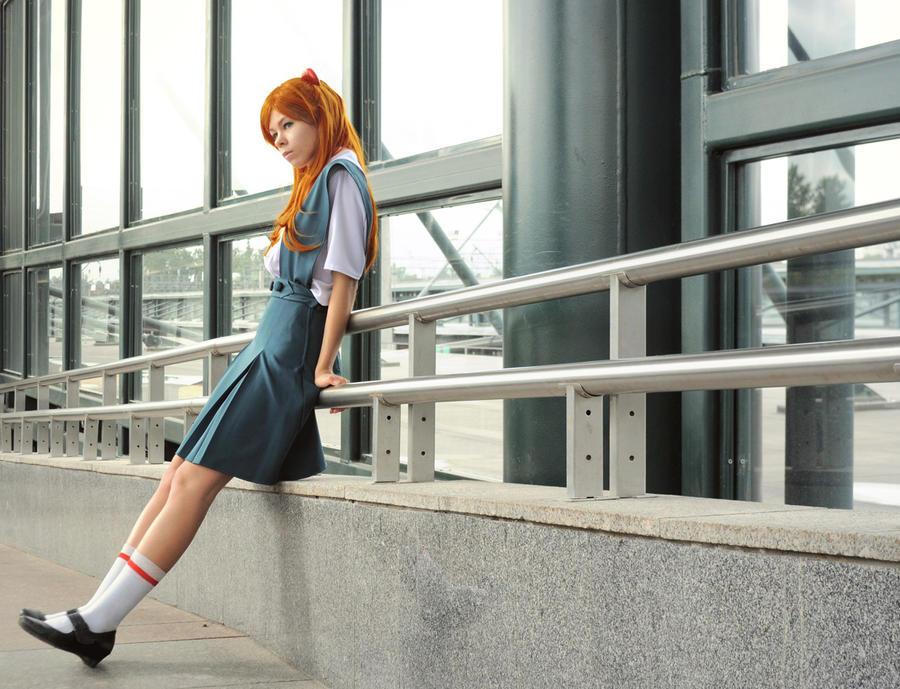 Asuka Langley - Ordinary day by Re-Aska