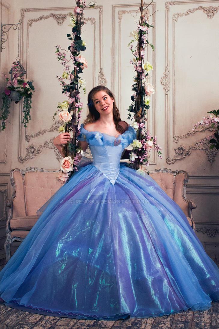 Cinderella 2015 Roses in the garden by Re-Aska