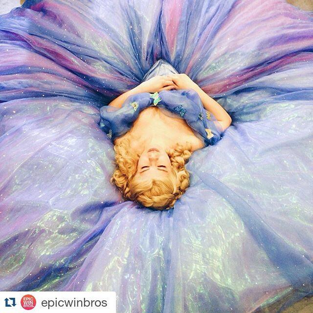 Cinderella 2015 cosplay dress by Re-Aska