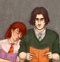 Snape+Lily by Starlettegurly