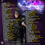 WWE WrestleMania The Music 2014 Back Cover