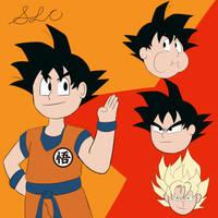 Son Goku Character Sheet