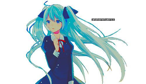 Anime Girl Render 6