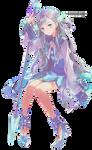 Anime Girl Render 9