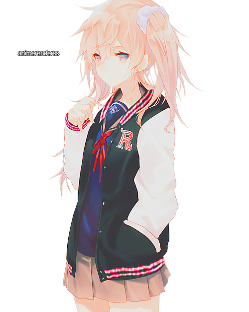 Anime Girl Render 12 by AnimeRenderss