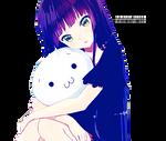 Anime girl Render 13