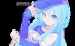 Anime Girl Render 19