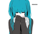 Anime girl render 20