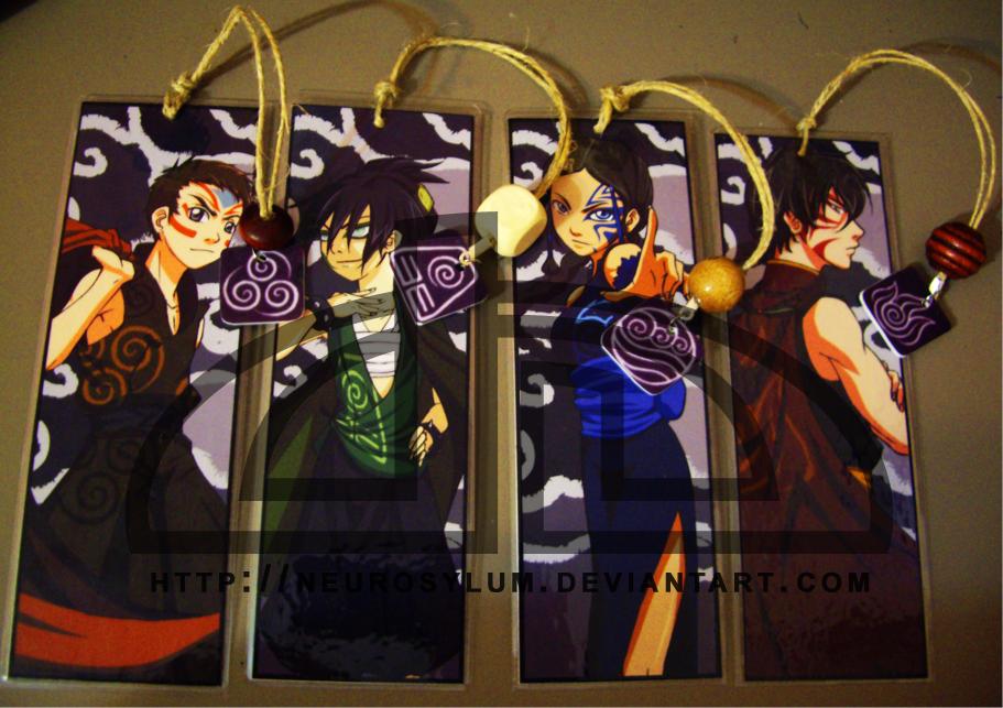 ATLA: Shadows ...Bookmarks XD by Neurosylum