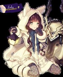 Render #42 Winter Girl