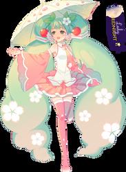Render #98 Hatsune Miku by Andy-chan801