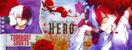 Portada I wanna be a Hero