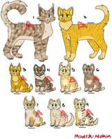 Cat Family Adopts {9/9 OPEN} by Maverik-Nipkin