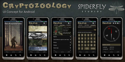 Cryptozoology for Android - UI by kahil